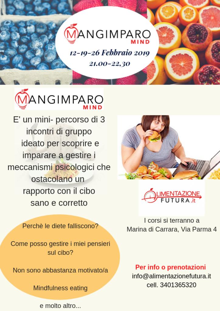 Volantino Mangimparo Carrara 2019